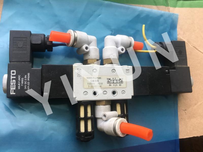 VUVE-F-L-P53C-G18-1C1 550366 VUVE-F-L-M52-A-G18-1C1 550384 VUVE-F-L-P53C-G18-1E1 15134725 FESTO Solenoid valve цена
