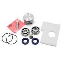 38mm Piston Pin Rings Kit Crankshaft Bearing Oil Seals Kit Gasket Kit For STIHL 018 MS180