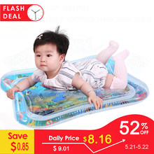 Inflatable Baby Water Mat Infant Tummy Time Playmat Toddler Fun Activity Play Center for sensory stimulation, motor skills(China)