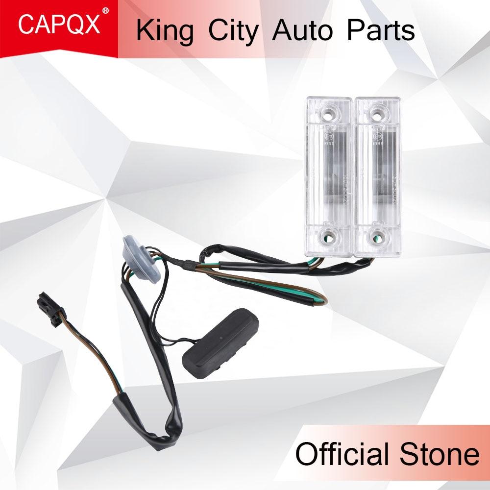 CAPQX 1pcs For Chevrolet Cruze 2009 2014 Rear Back License