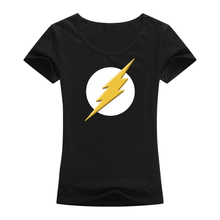 Fashion T Shirts Summer Straight 100% Cotton Short Women The Big Bang Theory Bazinga Movie Tv Designed Flash Crew Neck