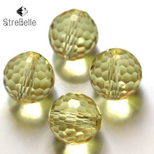 Wholesale 200pcs/bag 6mm 8mm 10mm Loose Spacer Bead for Jewelry Making Bracelet Necklace Faceted Round Crystal Glass Quartz Bead [sku 510] stainless steel eccentric spacer for your building machine 10mm wrench 5mm bore 200pcs per bag free shipping