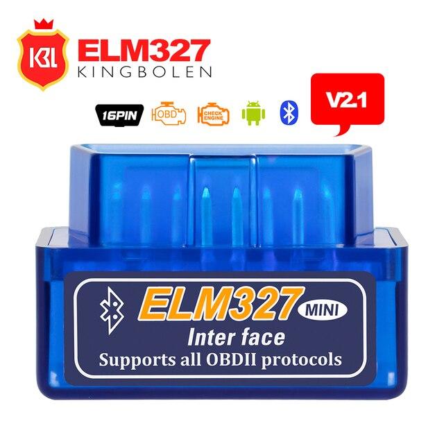 2017 супер мини ELM327 Bluetooth V2.1 OBD2 товара Reader работать на Android Крутящий момент инструмент диагностики ELM 327 Поддержка OBDII протоколы