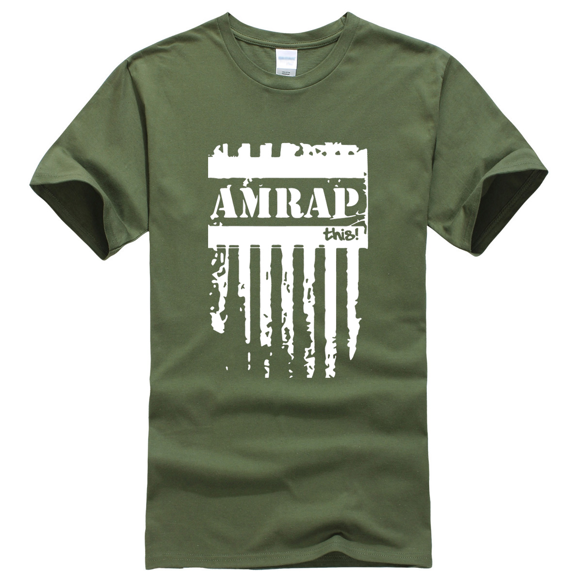 AMRAP letter printed 2019 men's   T  -  shirts   summer brand clothing crossfit   t     shirt   for men sportswear fitness harajuku   T  -  shirt   top