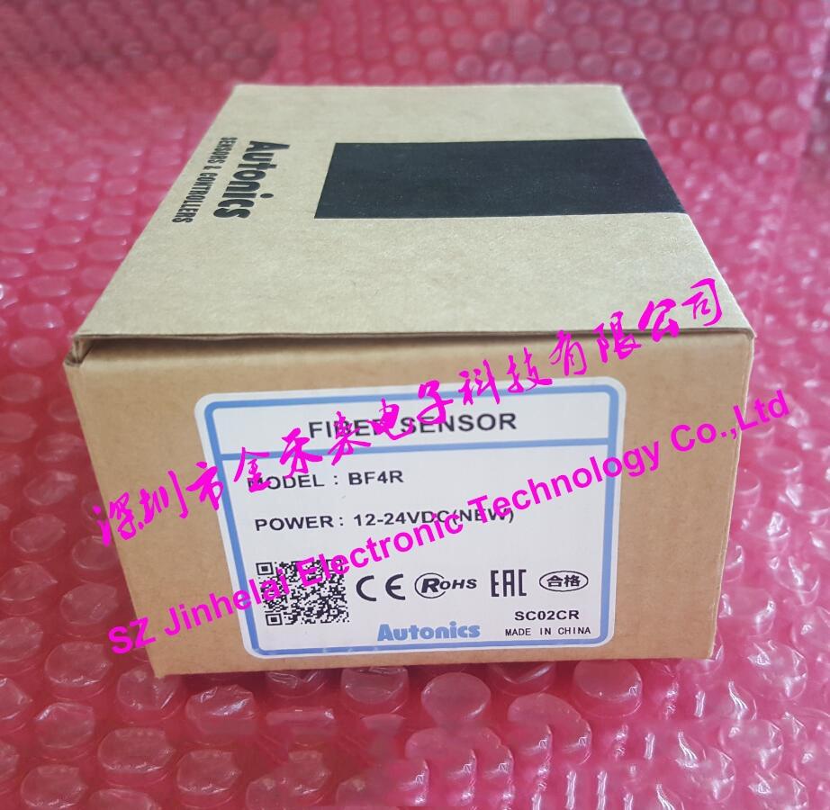 цена на 100% Authentic original BF4R AUTONICS FIBER SENSOR Optical fiber amplifier 12-24VDC