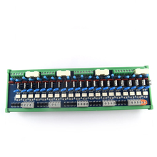 20-channel PLC AC amplifying board, output power board, RC anti-surge, short circuit protection