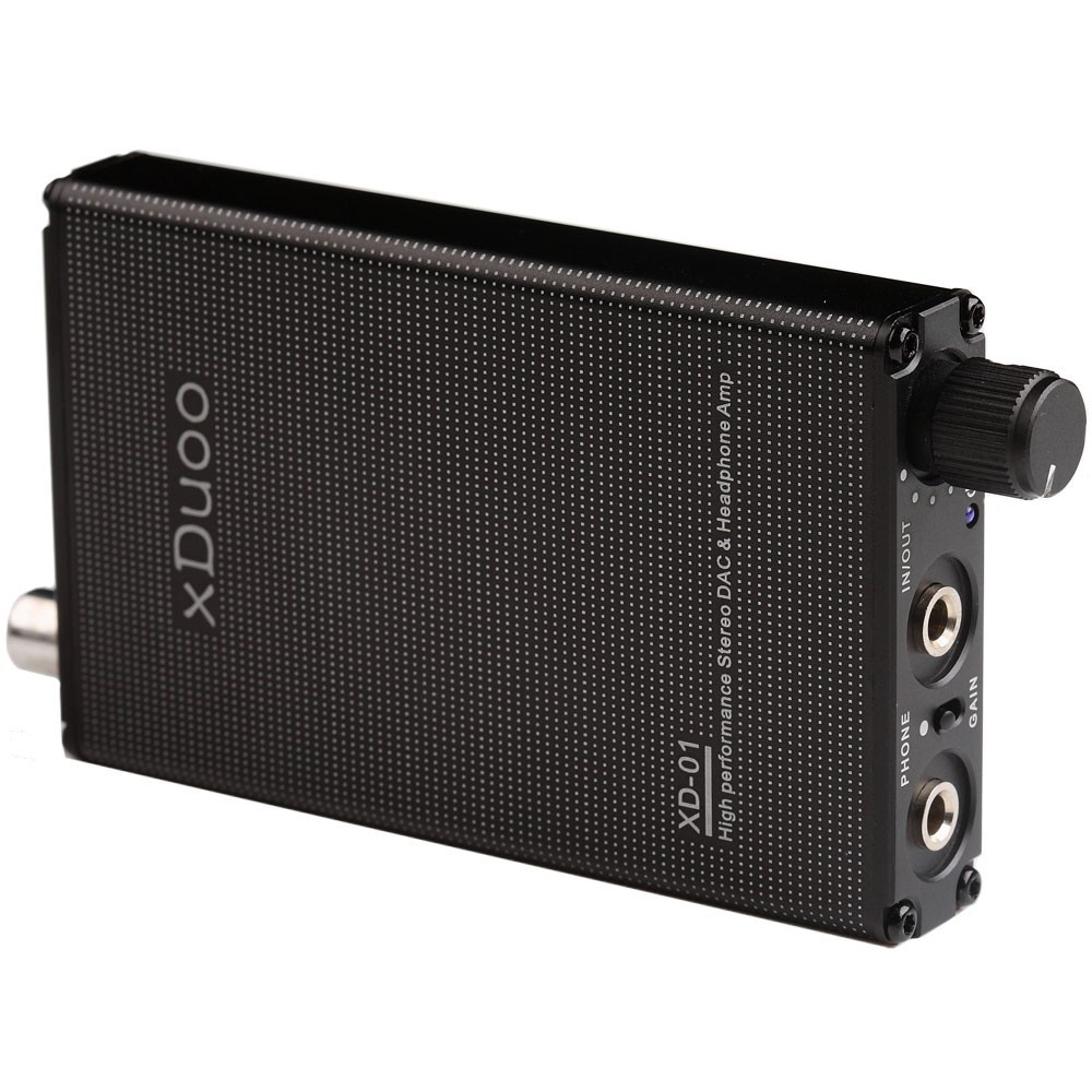 Xduoo XD-01 High Performance Stereo DAC Headphone Amplifier Portable USB Optical Coaxial Audio DAC Decoder xduoo xd 01 usb optical coaxial dac headphone amp l portable headphone amplifier 24bit 192khz headphone amplifier