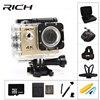 RICH F5 Sport Camera WiFi 1080P 170D Len 2 0 LCD Helmet Cam Go Underwater Pro