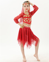 pretty belly dance costume set for children belly dance clothes belly dance suit
