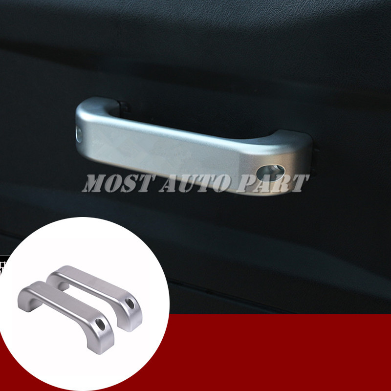 Inner Door Handle Grab Handle Trim 2pcs For Land Rover Defender 2 Door 2004 2016