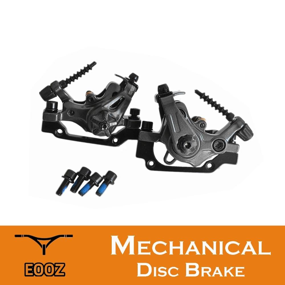 Mountain Bike MTB Mechanical Disc Brake Caliper Adapter Two sides Braking Force