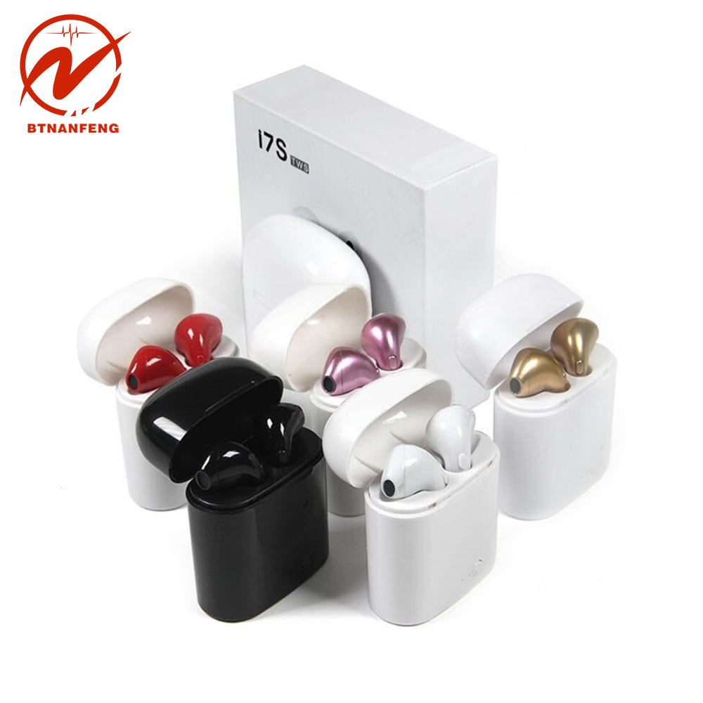 I7s TWS 5.0 Bluetooth Earphone Wireless Earbuds Sport Handsfree Earphone Cordless Headset With Charging Box For HUAWEI IPhone