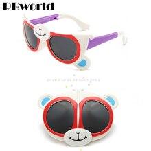 2016 Fashion Flexible Girls Sunglasses Kids Bendable Brand Designer Cute Glasses Children Boys UV400 Small Glasses gafas de sol