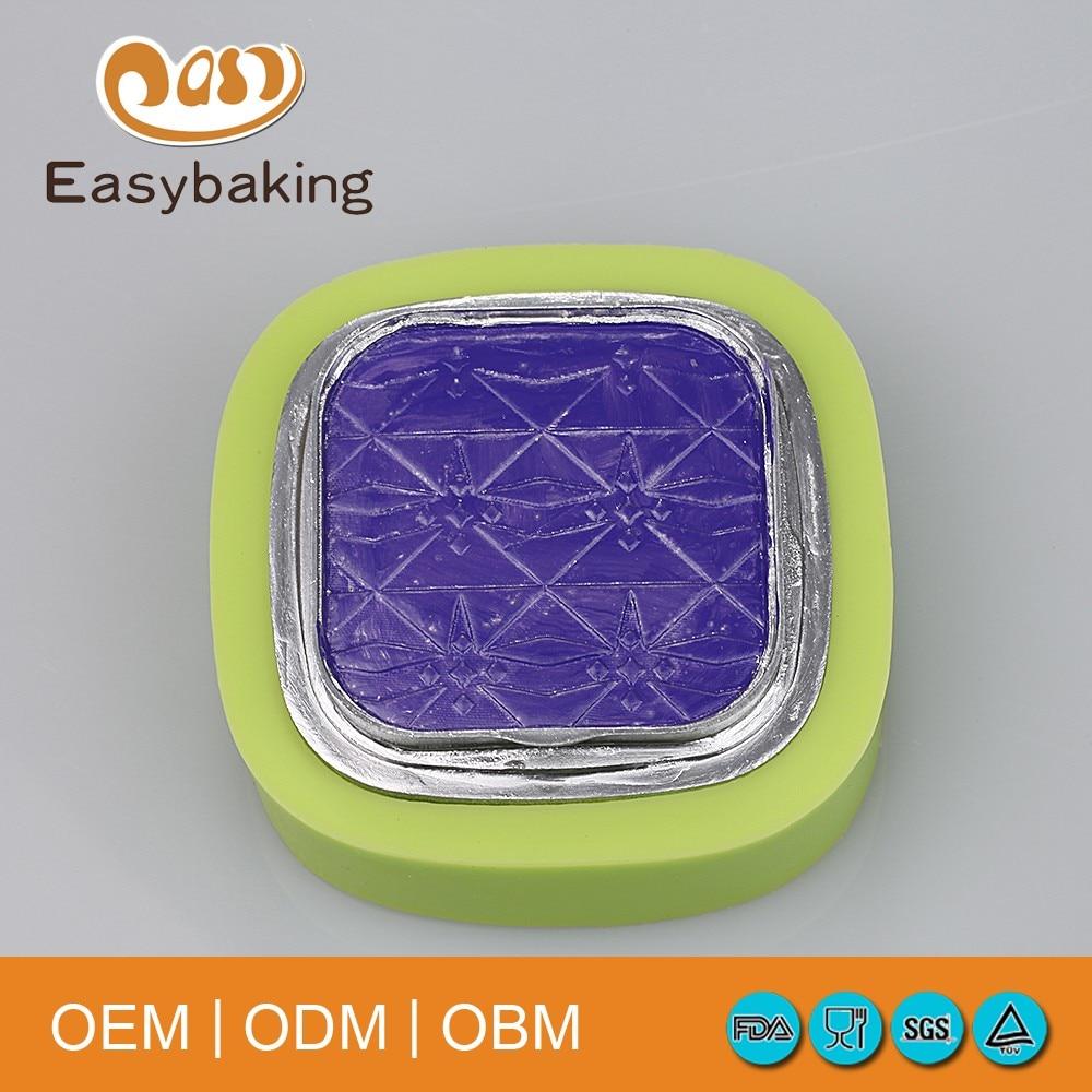 2016 Ny produkt kvadratisk form silikongröska för fondant mögel - Kök, matsal och bar