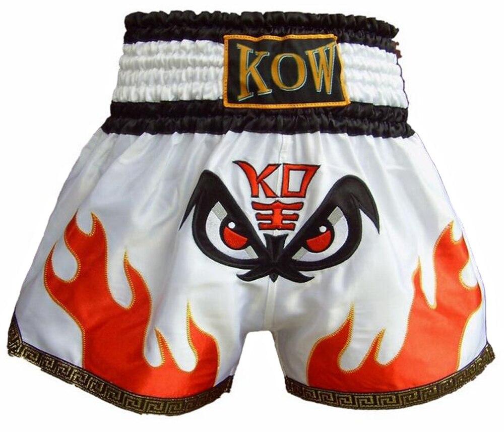 MMA Muay Thai boxe combat Shorts pantalons hommes enfants personnalisé malles formation sport Shorts pour pantalons adultes