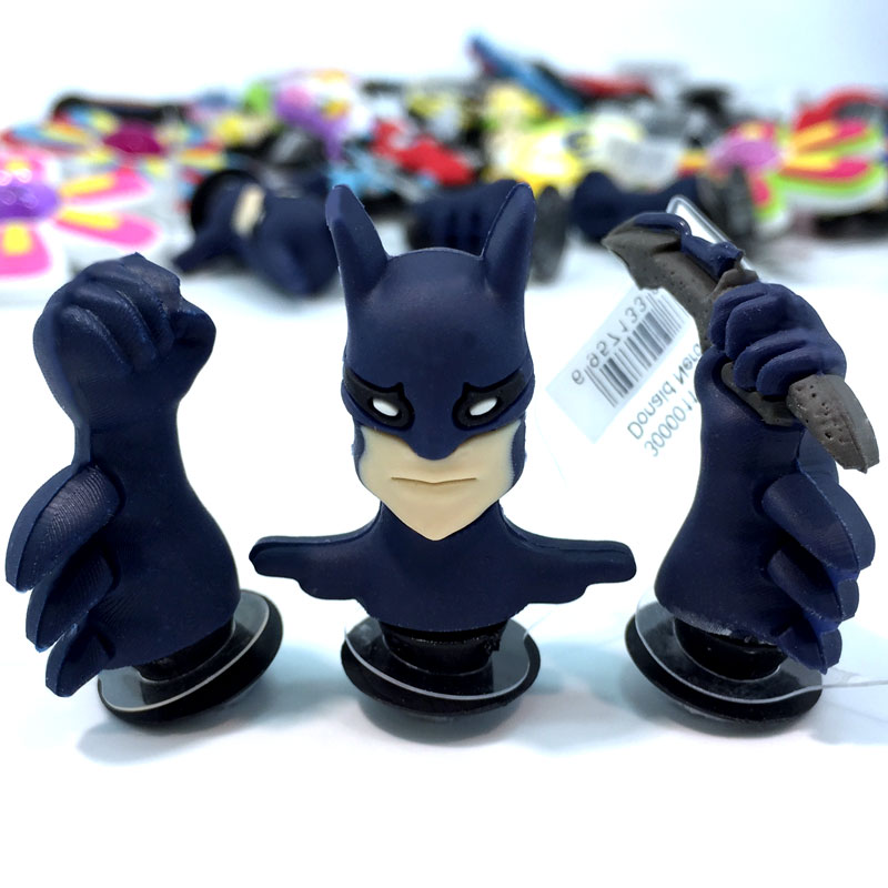 Free Shipping 1-5pcs Lot Special 3D Animals And Batman shoe decoration/shoe charms/shoe accessories kids accessories party gifts new arrival free shipping 40 pcs lot fruit shoe decoration shoe charms shoe accessories for clogs hyb074 01