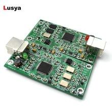 XMOS XU208 USB 384K 32B módulo I2S SPDIF salida, soporte DSD para es9018 ES9028 ES9038PRO USB DAC para amplificador de Audio hifi A6 013