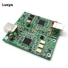 Xmos xu208 usb 384 k 32b 모듈 i2s spdif 출력, es9018 용 dsd 지원 es9028 es9038pro hifi 오디오 앰프 용 usb dac A6 013