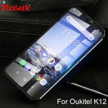Mcdark-Protector de pantalla de vidrio templado para teléfono, película de cubierta de vidrio templado 2.5D 9H para Oukitel K12 de 6,3 pulgadas