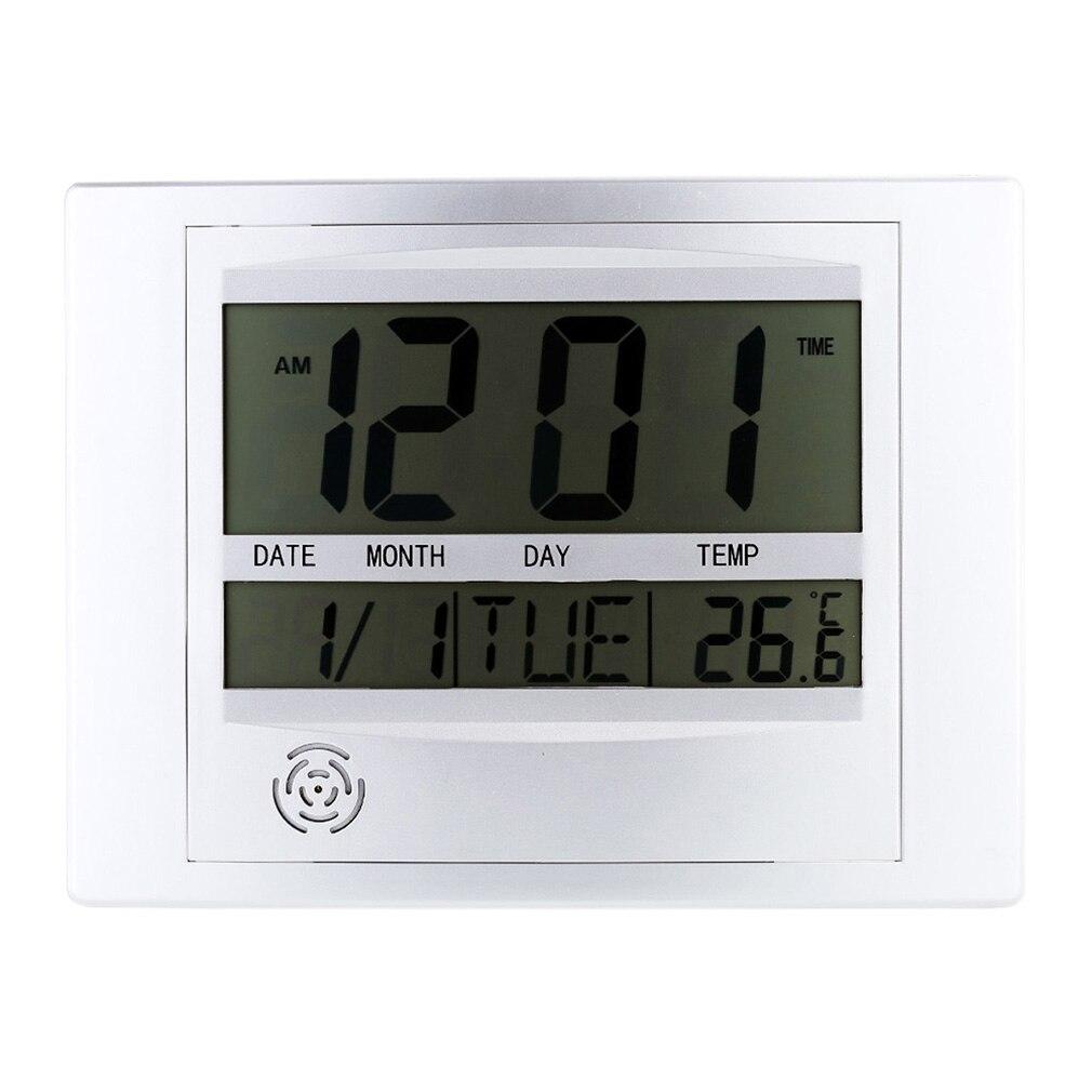 aliexpress acheter mode auto réglage numérique lcd horloge