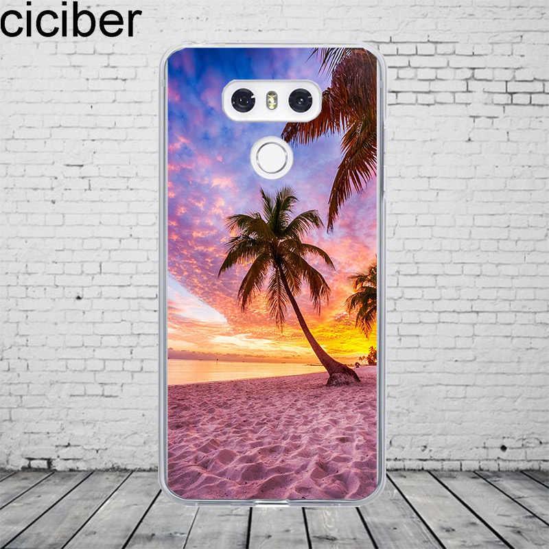 Ciciber Hawaiian Aloha For LG G7 G6 G5 G4 V40 V35 V30 V20 Phone Case ThinQ Silicone TPU For LG K8 K10 K4 2017 2018 K9 K11 Plus
