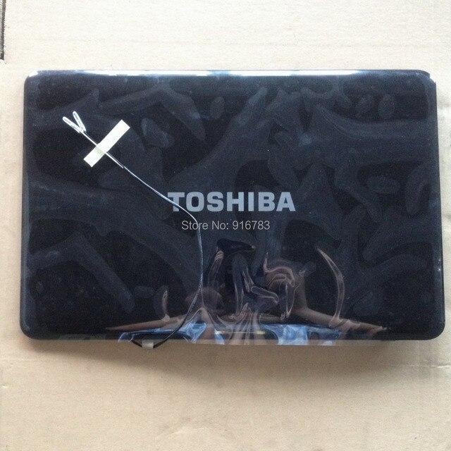 Original nova tampa da tampa do caso lcd para toshiba l755 l750 um 33blblc00q011
