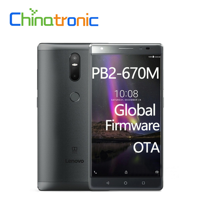 "bilder für Original Lenovo Phab 2 Plus PB2-670N Globale Firmware 4G FDD LTE Handy Android 6.0 Octa-core Dual SIM 6,44 ""FHD 3G 32G OTA"