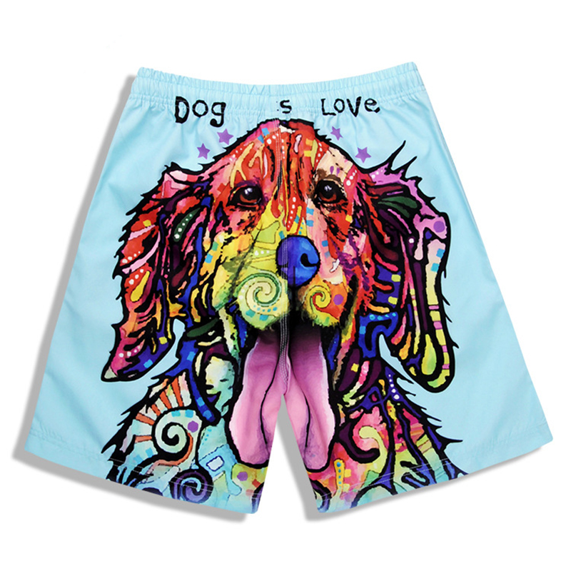 Summer 2019 New men beach   shorts   brand boardshorts homme quick drying bermudas masculinas de marca mens surf   board     shorts   male