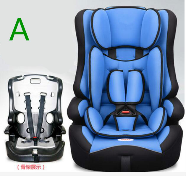 2017 Selling best Baby Car Safety Seat Baby Portabole Suitable 9 Months -12 Years Old Child Multi-color Optional hot sale colorful girl seat covers for cars auto car safety child safety belt portable infant kiddy car seat for traveling