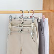 8e5c0b8d40994 1 pc Roupas Roupas Calças calças Penduradas Em Rack Cabide Multifunções  Duplo-Fivelas Cinto Titular Organizador Do Armário