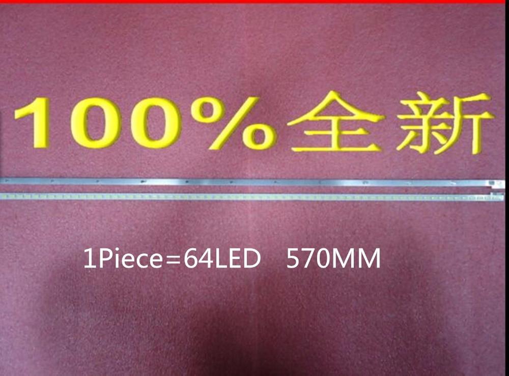 2piece/lot Lj64-03495a Lta460hn05 46el300c 46hl150c Led Strip Sled 2012sgs46 7030l 64 Rev1.0 1piece=64led 570mm