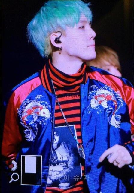 US $19 89  Kpop BTS SUGA Bangtan boys embroidery loose baseball hoodies  korea lovers Spring autumn Casual Harajuku k pop V baseball coat-in Hoodies  &