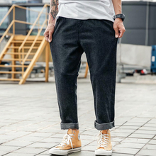 Men Full Length Mid Washed Jeans RK