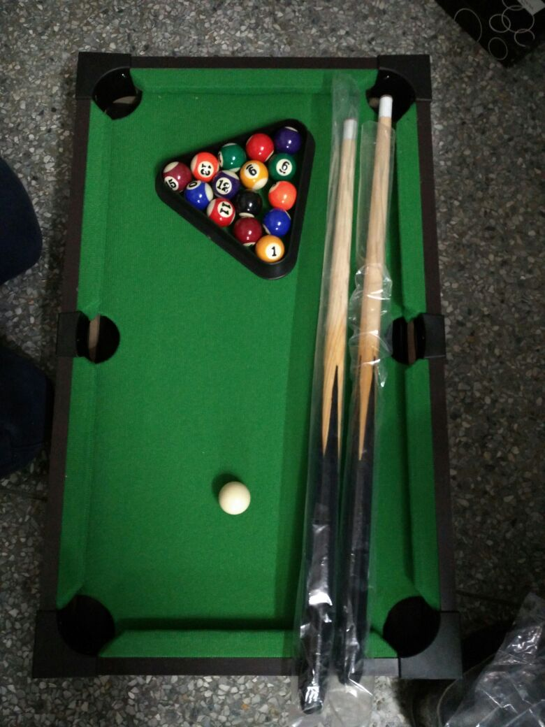Billiard Table Mini Snooker Pool household game for children and adult one set & Billiard Snooker Table With Accessories - 2.4 Feet - VIP Deals ...
