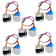 5V 4 Phase Stepper Step Motor Driver+Board ULN2003 With Drive Test Module Machinery Board Tools VE712 P10