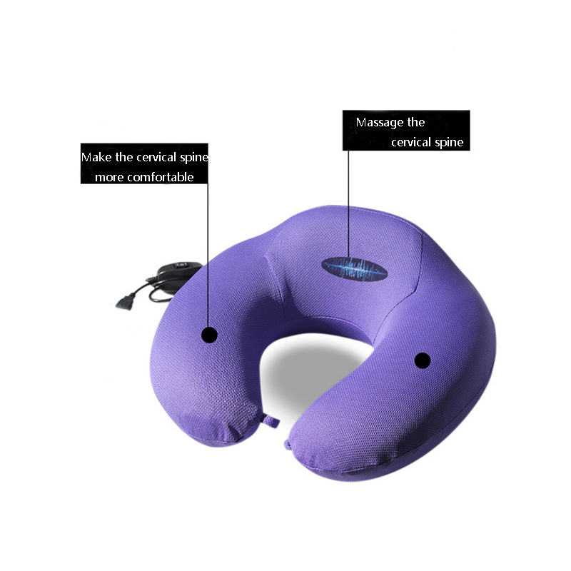 Aliexpress.com : Buy U shape electric vibration memory pillow ...