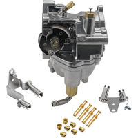 Карбюратор Carb + Джетс для Harley Davidson Big Twin Sportster двигателей Регулируемый простоя смесь винт Сменные среднего класса