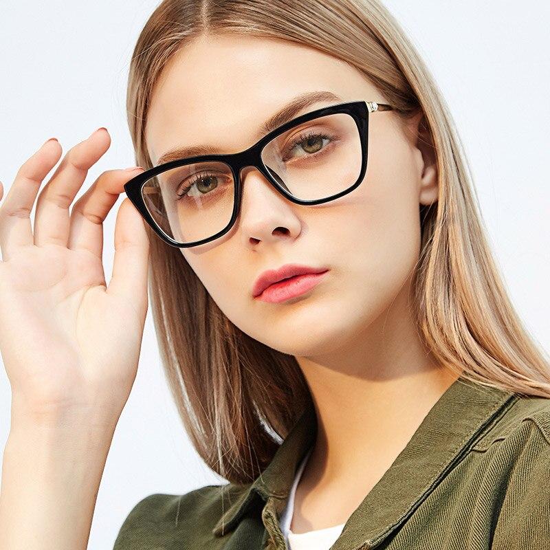 Women Acetate Optical Eyeglasses Stylish Female Spectacles for Prescription Glasses Optical Frame Fashion Styles 97330 Eyewear