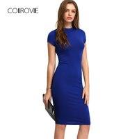 COLROVIE/летнее офисное Новое поступление, женские облегающие платья, модные, сексуальные, с коротким рукавом, с вырезом лодочкой, для работы, по...
