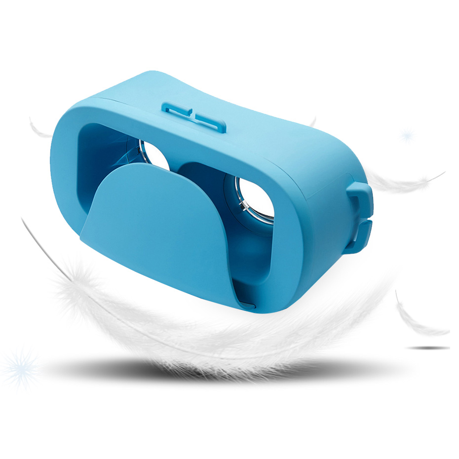 8e395cc5eb462 Óculos 3d óculos de Realidade Virtual de ouvido para 4.0-6.0 polegada Fov