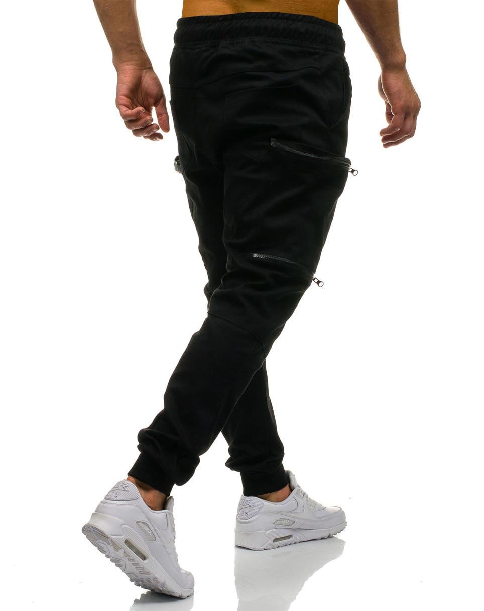 Mens Joggers 2019 New Red Camouflage Multi-Pockets Cargo Pants Men Cotton Harem Pants Hip Hop Trousers Streetwear XXXL