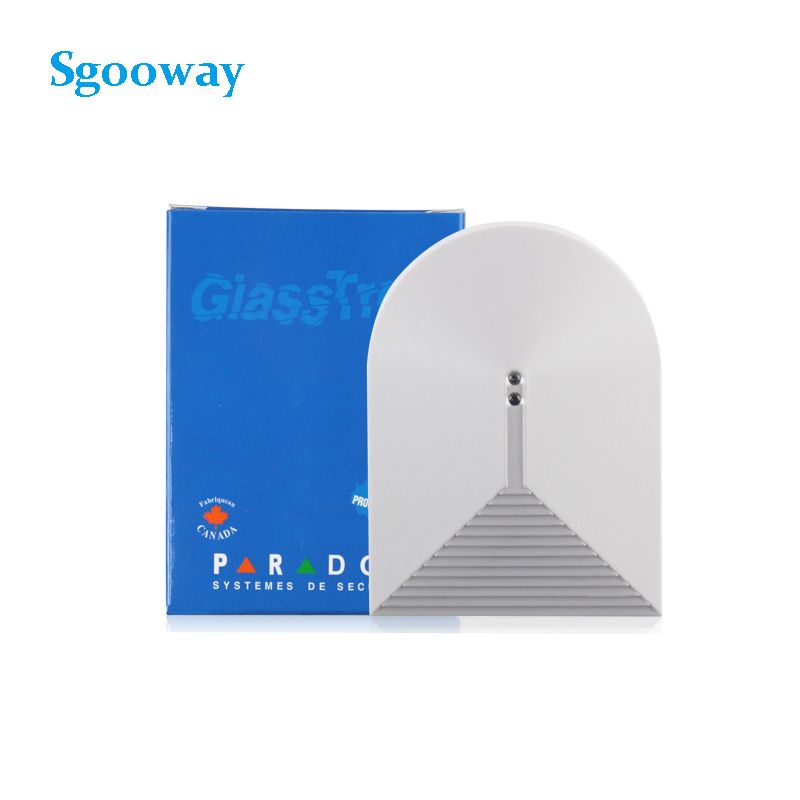 Sgooway Wired Glass Break Sensor Detector Window For Alarm System