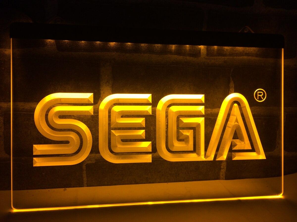 Lh054 Sega Led Neon Light Sign Home Decor Crafts China Mainland
