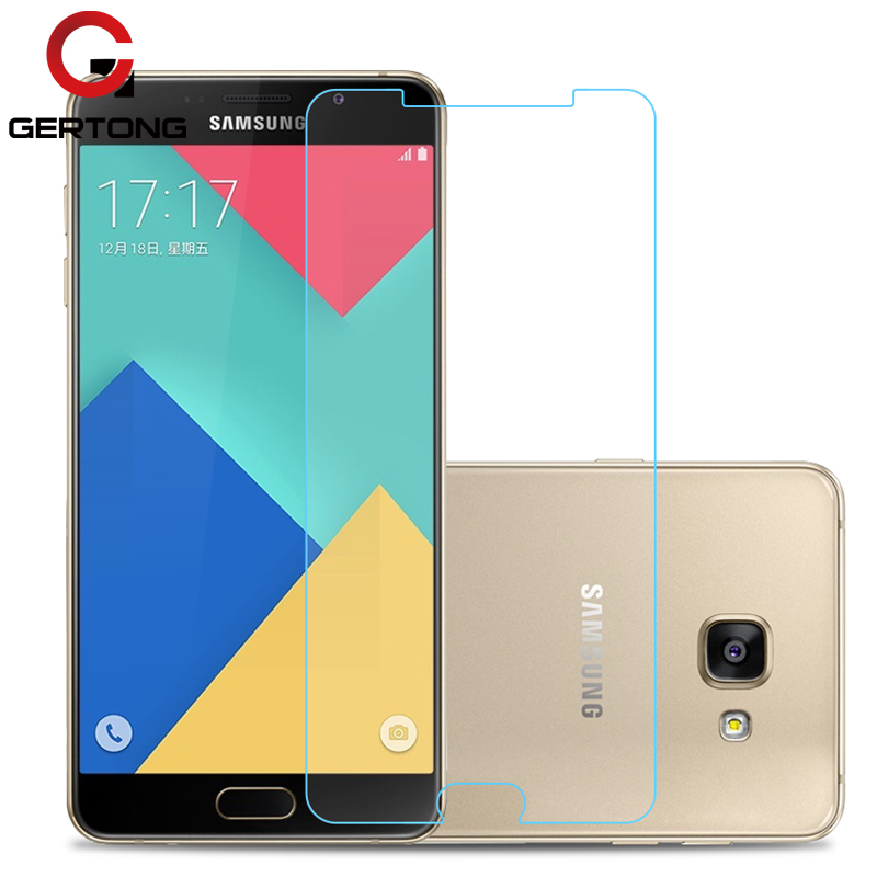GerTong Anti Explosion Tempered Glass For Samsung <font><b>Galaxy</b></font> J3 J5 J530 J7 2016 A3 <font><b>A5</b></font> A7 2017 S4 S5 S6 A8 Plus <font><b>2018</b></font> <font><b>Screen</b></font> Protector image