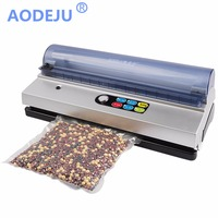 AODEJU full automation small commercial vacuum food sealer vacuum packaging machine family expenses vacuum machine vacuum sealer