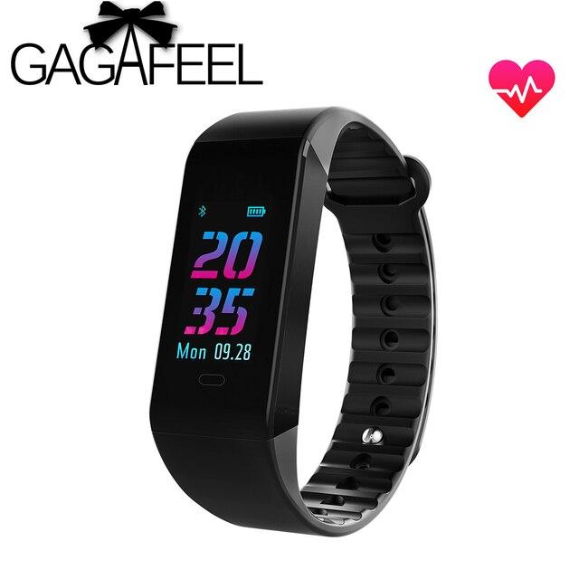 Gagafeel W6S Men Women Smart watch Fitness Bracelet Heart Rate Monitor watchband