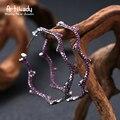 Artilady оливковая ветвь дизайн стерлингового серебра 925 хооп серьги нежный CZ камень для женщин подарок ювелирных изделий партии