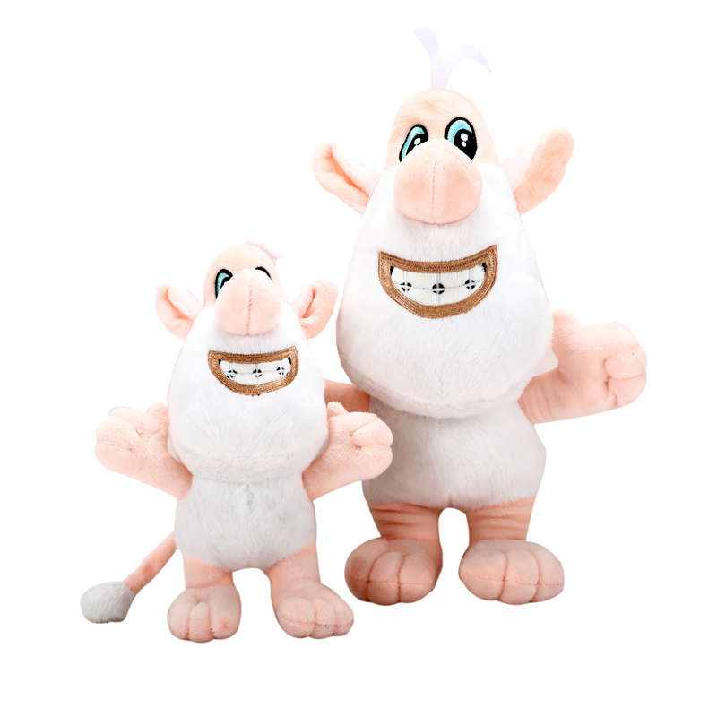 23/33cm Russian Cartoon Character White Pig Plush Toys Doll Soft Stuffed Animals Pig Toys for Children Kids Christmas Gifts children cartoon animals hanging outdoor basket toys