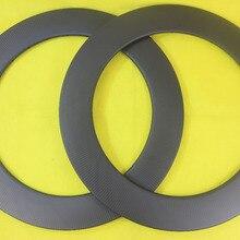 88 мм клинчер бескамерный Углеродные велосипедные диски дисковый трек 25 мм ширина cylco-cross велосипед 3 к twill матовый полный carbone firber wheelset