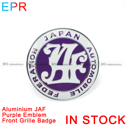 EPR 40th Anniversary Jaf JDM Front Grill Badge Emble For Universal Accessories
